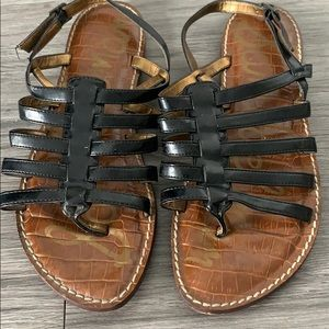 Sam Edelman black sandals, size 7